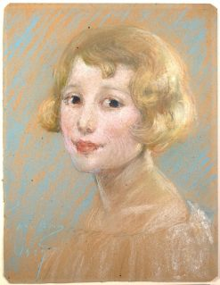 Blond Girl | Alice Pike Barney | Oil Painting