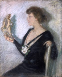 The Tanagra Figure | Alice Pike Barney | Oil Painting