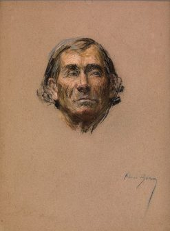 Old Actor | Alice Pike Barney | Oil Painting