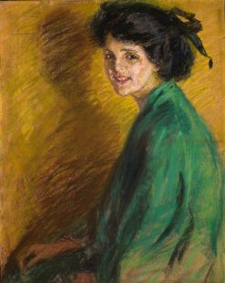 Light-Hearted | Alice Pike Barney | Oil Painting