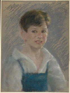 Little Gardener   Alice Pike Barney   Oil Painting