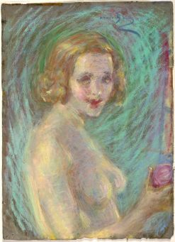Nude with Fruit | Alice Pike Barney | Oil Painting