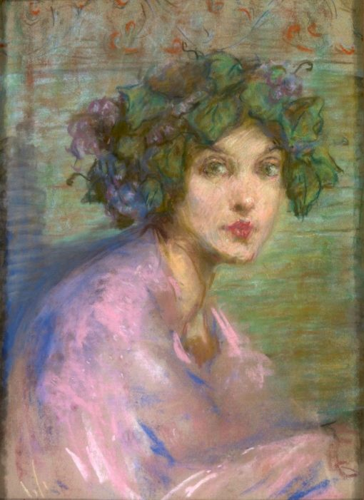 Bacchante | Alice Pike Barney | Oil Painting