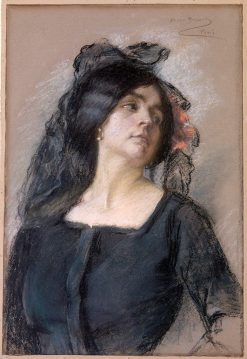Spanish Woman | Alice Pike Barney | Oil Painting