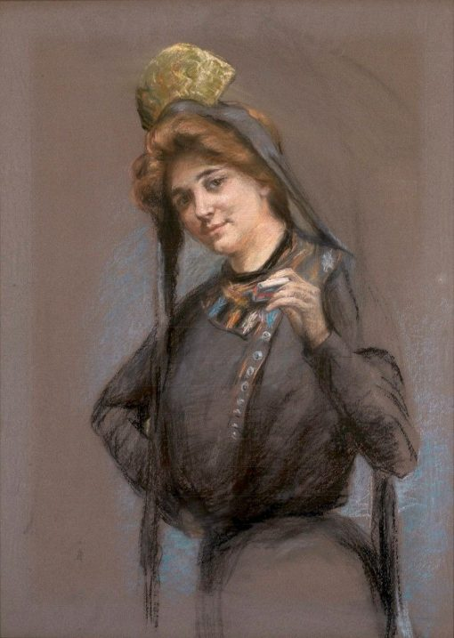 Cigarette | Alice Pike Barney | Oil Painting