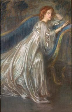 The Locket   Alice Pike Barney   Oil Painting