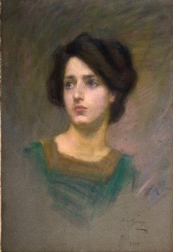 Monique | Alice Pike Barney | Oil Painting