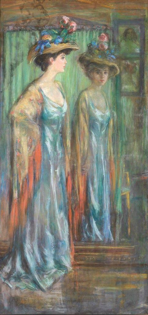 Alice Roosevelt Longworth | Alice Pike Barney | Oil Painting