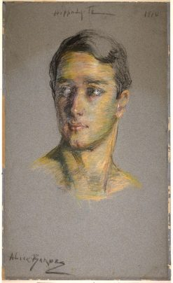 Hippolyte Thom | Alice Pike Barney | Oil Painting