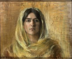 Marianne in Yellow | Alice Pike Barney | Oil Painting