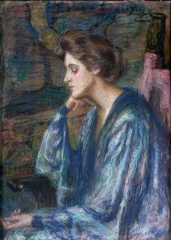 Mrs. Roosevelt Scovel | Alice Pike Barney | Oil Painting