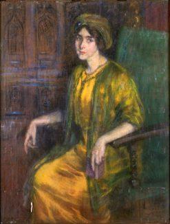 Laura Dreyfus Barney | Alice Pike Barney | Oil Painting