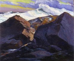 Oncoming Storm   Abraham J. Bogdanove   Oil Painting