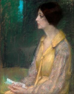The Letter   Alice Pike Barney   Oil Painting