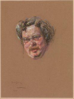 Gilbert K. Chesterton | Alice Pike Barney | Oil Painting