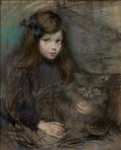 Minette and Minet | Alice Pike Barney | Oil Painting