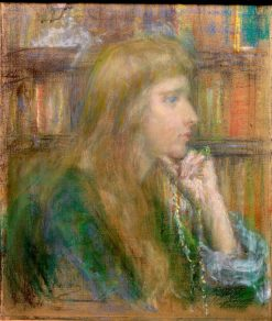 The Writer (Natalie Clifford Barney)   Alice Pike Barney   Oil Painting