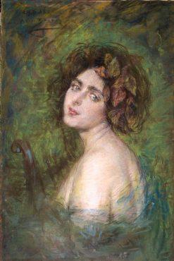 La Cigale | Alice Pike Barney | Oil Painting