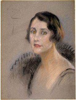The Countess Carraciolo | Alice Pike Barney | Oil Painting
