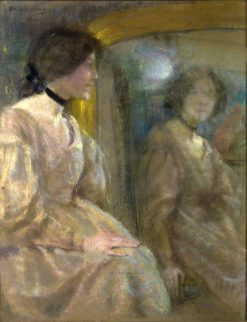 Mirror Reflection | Alice Pike Barney | Oil Painting