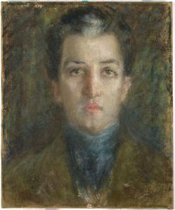 The Young Diplomat (Senor Algara)   Alice Pike Barney   Oil Painting
