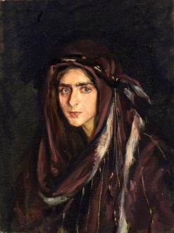 Laura in Arabian Costume | Alice Pike Barney | Oil Painting
