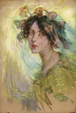 Morning Glories | Alice Pike Barney | Oil Painting