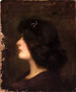 Laura at Fifteen | Alice Pike Barney | Oil Painting