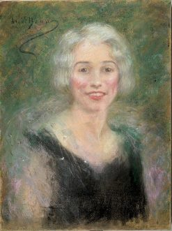 Mrs. Leslie Carter | Alice Pike Barney | Oil Painting