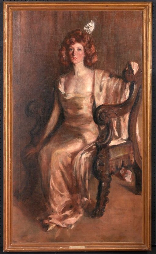 Evalina Palmer Sicilianos   Alice Pike Barney   Oil Painting