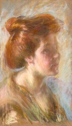 Girl with Titian Hair | Alice Pike Barney | Oil Painting
