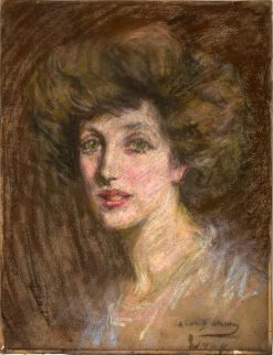 Gladys | Alice Pike Barney | Oil Painting