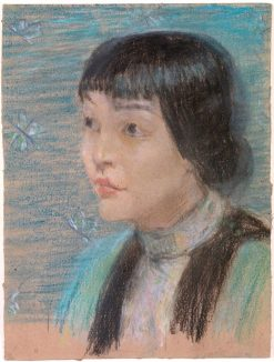 Anna May Wong | Alice Pike Barney | Oil Painting