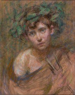 Jeune Faune | Alice Pike Barney | Oil Painting