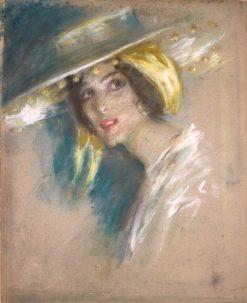 Spanish Fantasy I   Alice Pike Barney   Oil Painting