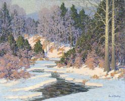 Winter in the Catskill Mountains | John William Bentley | Oil Painting