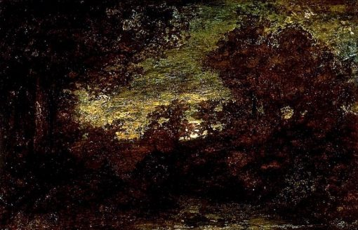 Moonrise | Ralph Albert Blakelock | Oil Painting