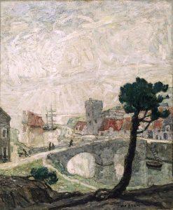 Ancient Seaport | Max Bohm | Oil Painting