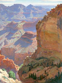 Grand Canyon | Carl Oscar Borg | Oil Painting