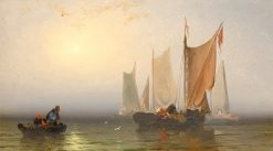 Marine Study | Franklin D. Briscoe | Oil Painting