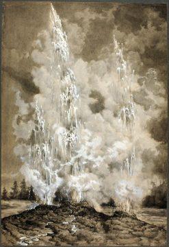 Yellowstone Geyser | Richard Norris Brooke | Oil Painting