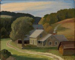 Landscape | Edward Bruce | Oil Painting