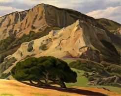 Oaks and Rocks - San Luis Obispo | Edward Bruce | Oil Painting