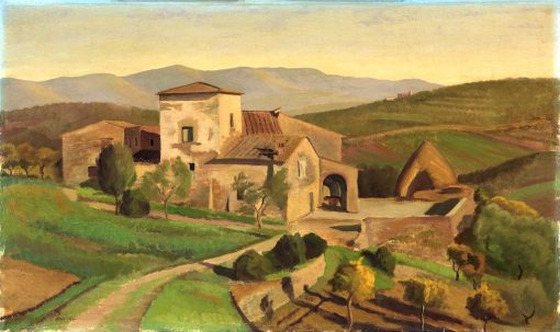 A Tuscan Farm | Edward Bruce | Oil Painting