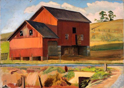 Bluemont Farm | Edward Bruce | Oil Painting