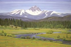 In the Cascade Mountains | Edward Bruce | Oil Painting