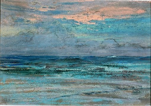 Long Island Coast (#20)   Howard Russell Butler   Oil Painting