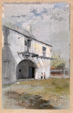St. Augustine | Howard Russell Butler | Oil Painting