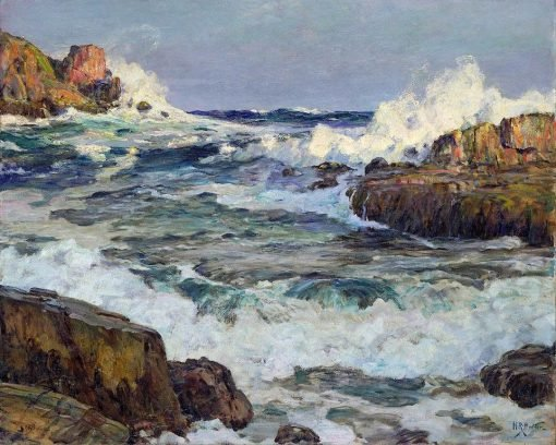 Clearing after September Gale--Maine Coast   Howard Russell Butler   Oil Painting