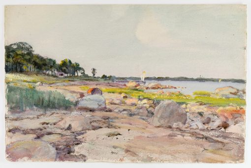Coastal Landscape | Howard Russell Butler | Oil Painting